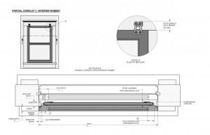 Partial Overlay 1: Interior Rabbet
